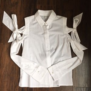 BP blouse top with bow